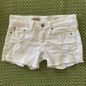 AG Adriano Goldschmied The Carrie Jean shorts
